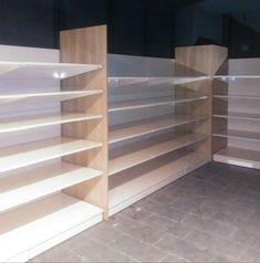 Instalación de mobiliario para franquicias en Canarias Bookcase, Shelves, Home Decor, Shop Fittings, Tents, Shelving, Decoration Home, Room Decor, Book Shelves