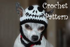 Instant Download Crochet Pattern  Skeleton Dog by poshpoochdesigns, $3.99