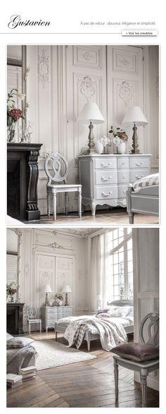 Meuble shabby Gustavien : collection de meubles Louis XV - Interior's