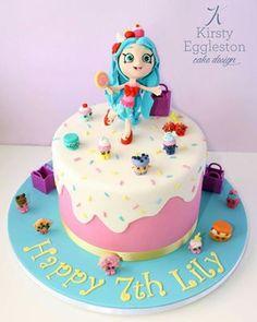 Shoppie Shopkins Cake
