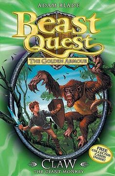 Claw the Giant Monkey (Beast Quest #8) by Adam Blade