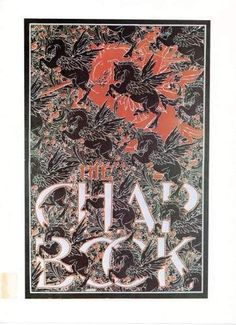 Reproduction Art Nouveau The Chap Book Advertisment Print For Framing.  For sale £10 free P&P