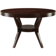Furniture of America Pyrennes Espresso Dining Table   Overstock™ Shopping - Great Deals on Furniture of America Dining Tables