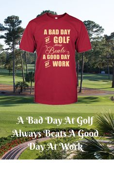 I love this funny golf shirt, it is so true! If you are looking for Golf clothing products for men then this is the place. Get ready for one happy golfer by grabbing one of these great gifts from the store. The website provides golf humor in the form of g Funny Golf Shirts, Mens Golf Fashion, Golf Now, Vintage Golf, Perfect Golf, Mothers Day Shirts, Golf Quotes, Golf Humor, Golf Gifts