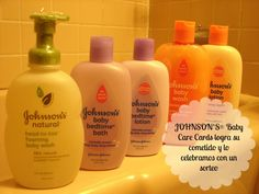 #Win a JOHNSON'S®  Baby prize pack with 5 products (06/09) via www.naturalmentemama.com #MuyLatinas #ad