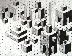 Isometric Cuboids by maureencrosbie, via Flickr