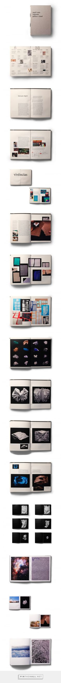 Paper as Graphic and Visual Expression / Project on Behance... - a grouped images picture - Pin Them All