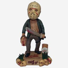 Jason Friday, Friday The 13th, Jason Voorhees, Horror Decor, Halloween Horror, Halloween Town, Halloween Ideas, Halloween Costumes, Movie Props