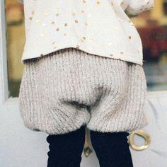 SALE 30%OFF!! Aチュチュニットセットアップパンツ(ピンク、オレンジ、グレー) - Peach Baby~子供服ファッション