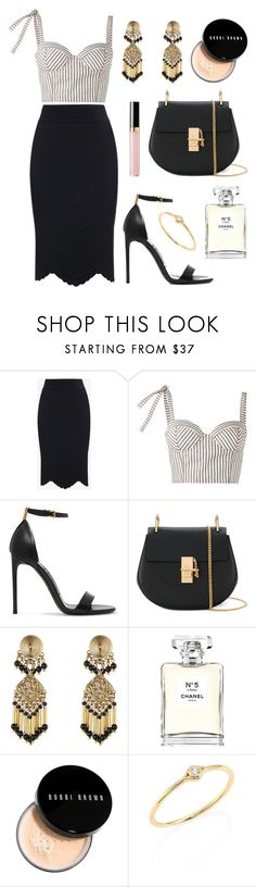 """Dressed for Success"" by tasha-m-e ❤ liked on Polyvore featuring Alexander McQueen, Rosie Assoulin, Tom Ford, Chloé, Etro, Chanel, Bobbi Brown Cosmetics and Sydney Evan"