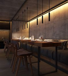 Before starting your next interior design project discover with Luxxu the best modern furniture and lighting for your restaurant! Find it all at luxx Restaurant Interior Design, Cafe Interior, Shop Interior Design, Restaurant Zen, Restaurant Lighting, Cafe Lighting, Café Bar, Design Café, Cafe Design
