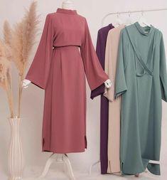 Kimono Fashion, Hijab Fashion, Fashion Outfits, Womens Fashion, Muslim Fashion, Modest Fashion, Modest Outfits, Dress Outfits, Dresses