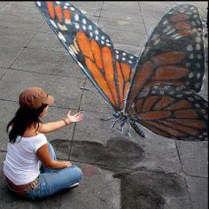 sidewalk art #streetart jd