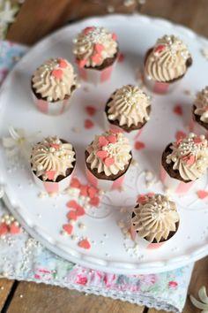Nus Nougat Cupcakes - Nutella Cupcakes | Das Knusperstübchen
