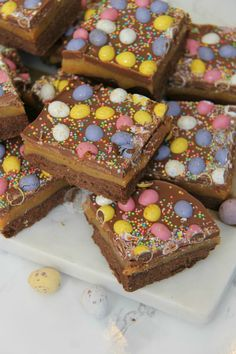 Easter Chocolate Millionaires Shortbread! - Jane's Patisserie