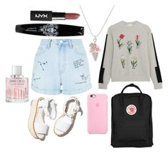 """fjllrvn"" by kingoliversykes on Polyvore featuring Paloma Barceló, New Look, Steve J & Yoni P, Fjällräven en Jimmy Choo"