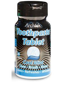 Toothpaste Tablets | Toiletries | Health & Hygiene | Magellan's Travel Supplies
