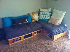 Pallet Furniture (obviously with more of a boy twist)