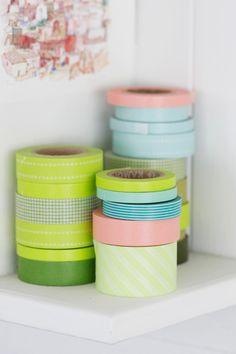 Washi tape- so cute www.mywashitape.com