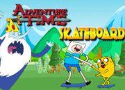 Adventure Time Skateboarding