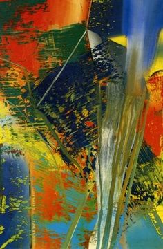 Gerhard Richter » Art » Paintings » Abstracts » Abstract Painting » 576-1
