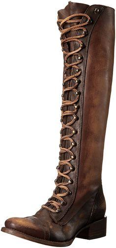 Amazon.com   Freebird Women's Arlo Harness Boot   Knee-High