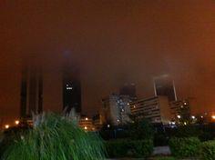Las cuatro torres a lo Blade Runner