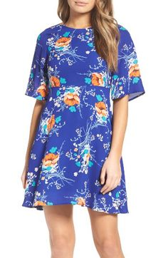 Charles Henry Charles Henry Fit & Flare Dress available at #Nordstrom