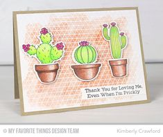 Sweet Succulents, Sweet Succulents Die-namics, Geometric Grid Background - Kimberly Crawford  #mftstamps