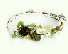 Pink flower crown Beach bridal hair accessories Orchid от LumilinA