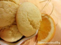 Biscotti all'arancia (ricetta tradizionale e bimby)