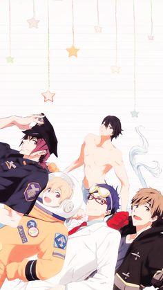 Super ideas for wallpaper summer anime Summer Wallpaper, Cute Anime Wallpaper, Trendy Wallpaper, Wallpaper Iphone Cute, Fish Wallpaper, Mobile Wallpaper, Fanarts Anime, Anime Manga, Anime Guys