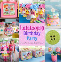 #Lalaloopsy Birthday Party http://atozebracelebrations.com/2014/06/lalaloopsy-birthday-party.html