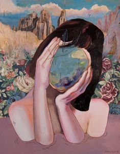 Sensitivity as Strength in Dreamy Paintings by Alexandra Levasseur. illusion.scene360...