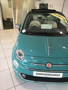 the 7 best fiat 500c anniversario riviera green mine images on pinterest fiat 500 salon 4. Black Bedroom Furniture Sets. Home Design Ideas