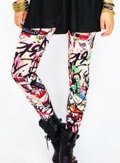 cool leggings- 90s