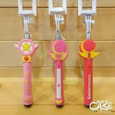 Sailor Moon selfie stick is so cool!
