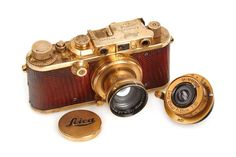 Image of This Gold-Plated Leica from 1931 Sold for $683,000