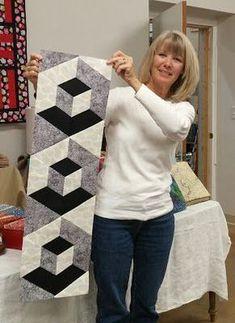 PJ's Crafty Creations: 3D Hexagon Table Runner Supply List