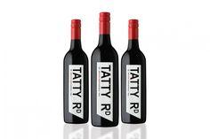 Tatty Road: Wine rebranding, wine label design, packaging design | We Create Brands