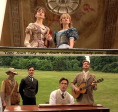 The Importance Of Being Earnest..Best Scene Ever :) I still like the old version better, but I absolutely loved this part. :D