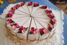 Kreatív meglepetés: hajtogassunk papírtortát! Fake Cake, Diy Gift Box, Origami, Projects To Try, Desserts, Gifts, Food, Craft, School