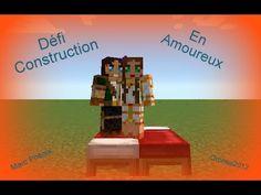 Ep 1   Minecraft   Défi construction en amoureux   Maisons Modernes