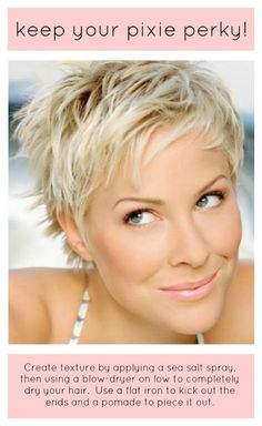 A BEAUTIFUL LITTLE LIFE: Keep Your Pixie Perky!
