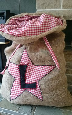 Check out this item in my Etsy shop https://www.etsy.com/uk/listing/245544814/personalised-christmas-hessian-sack