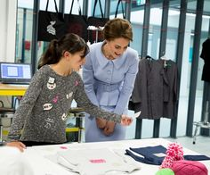 Catherine, Duchess of Cambridge visits Bouwkeet, the social Makerspace of Bospolder-Tussendijken on October 11, 2016 in The Hague, Netherlands. (Photo by Pool/Samir Hussein/WireImage)  via @AOL_Lifestyle Read more: http://www.aol.com/article/lifestyle/2016/10/13/duchess-kate-middleton-wears-hairnets/21581914/?a_dgi=aolshare_pinterest#fullscreen