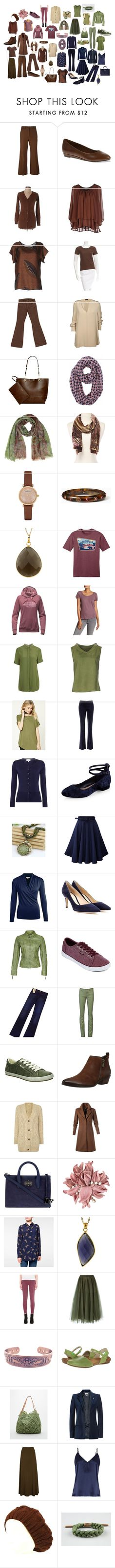"""""""Soft autumn set"""" by jennyclogs on Polyvore featuring Nina Ricci, Soft Style By Hush Puppies, Soallure, Shirtaporter, J Brand, Joseph, Calvin Klein, Emporio Armani, Kate Spade and The North Face"""