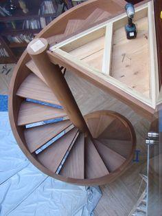 all wood spiral