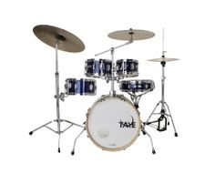 Taye Drums SLS518F-SPK-GB 5-Piece Drum Set by Taye Drums. $389.99. The Taye Spotlight Special Edition is our scaled down version of the GoKit. Designed for playing in a small space and or in a quite situation.. Save 40% Off!