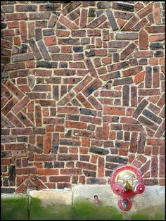 Resultado de imagen de ribbed brickwork into windows Brick Architecture, Architecture Details, Brick Bonds, Brick Art, Brick Facade, Brick Design, Brick Patios, Brick Patterns, Brick Building